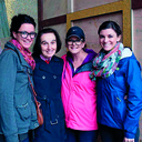 Mom, daughters head out in footsteps of a saint